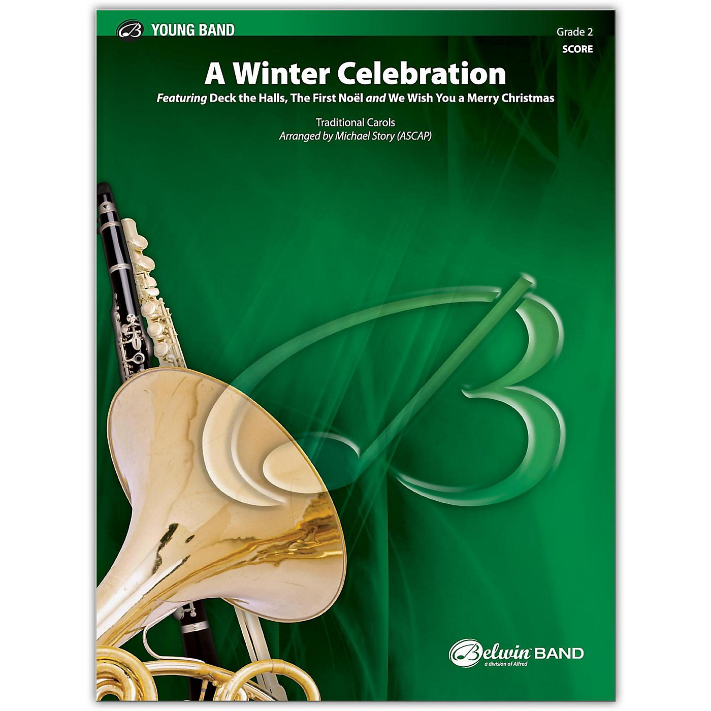 BELWIN A Winter Celebration Conductor Score 2 (Easy) thumbnail