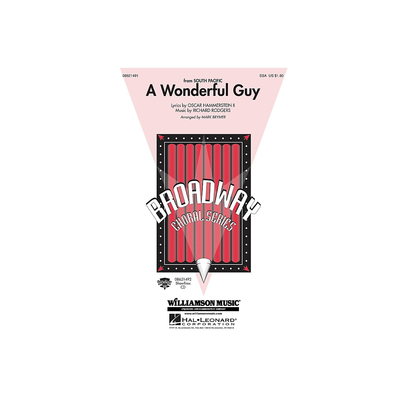 Hal Leonard A Wonderful Guy (from South Pacific) ShowTrax CD Arranged by Mark Brymer thumbnail