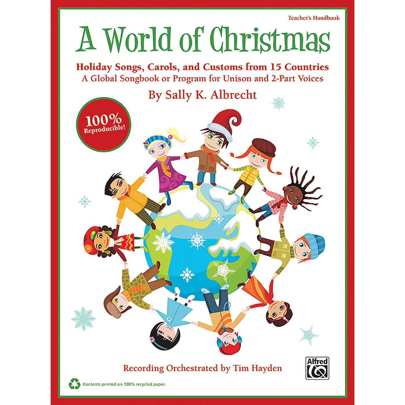 Alfred A World of Christmas: Holiday Songs, Carols, and Customs from 15 Countries Book & CD Kit thumbnail