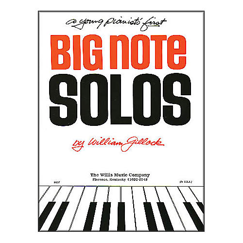 Willis Music A Young Pianist's First Big Note Solos for Piano thumbnail