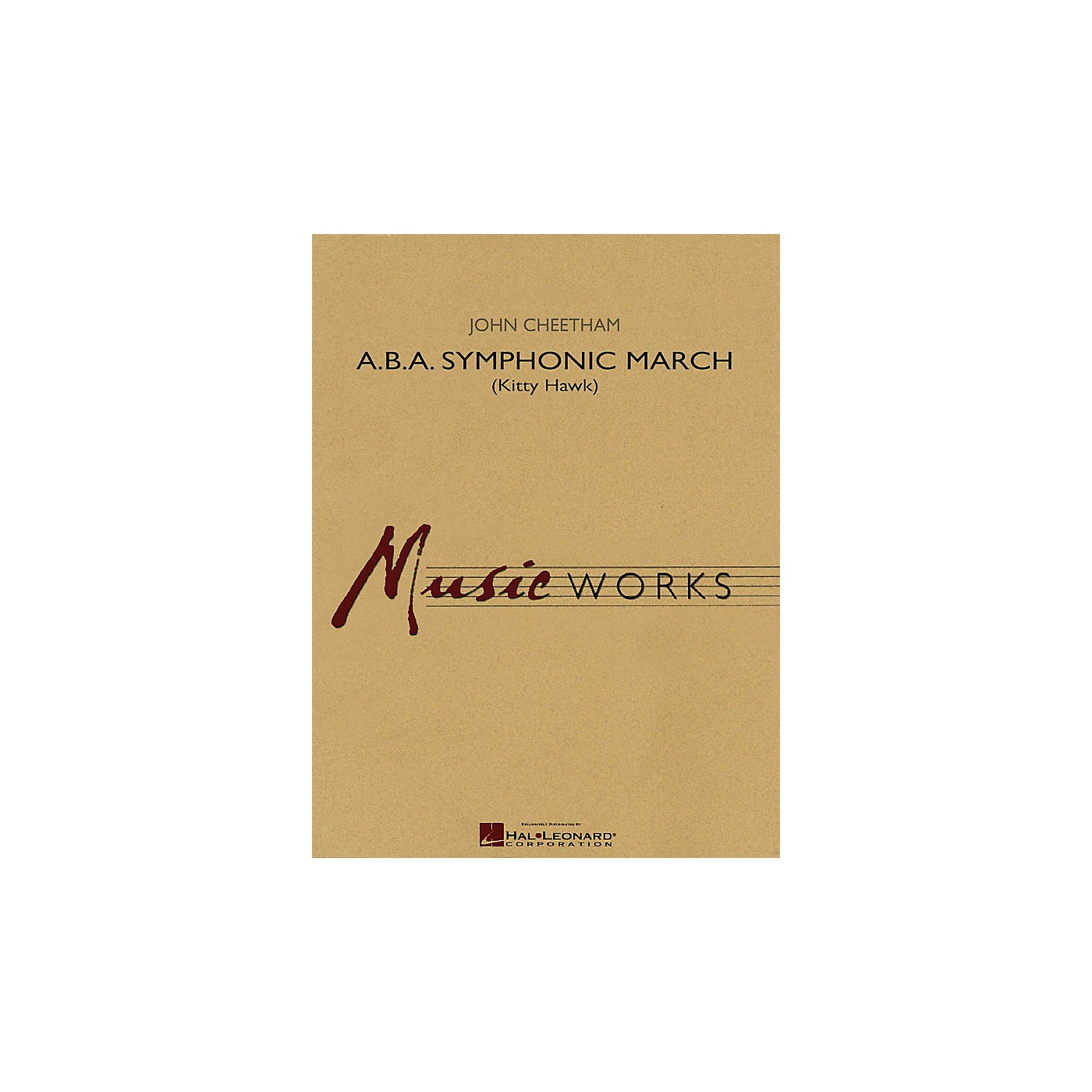Hal Leonard A.B.A. Symphonic March (Kitty Hawk) Concert Band Level 4 Composed by John Cheetham thumbnail