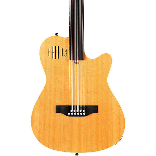 Godin A11 Glissentar 11-String Fretless Acoustic-Electric Guitar thumbnail