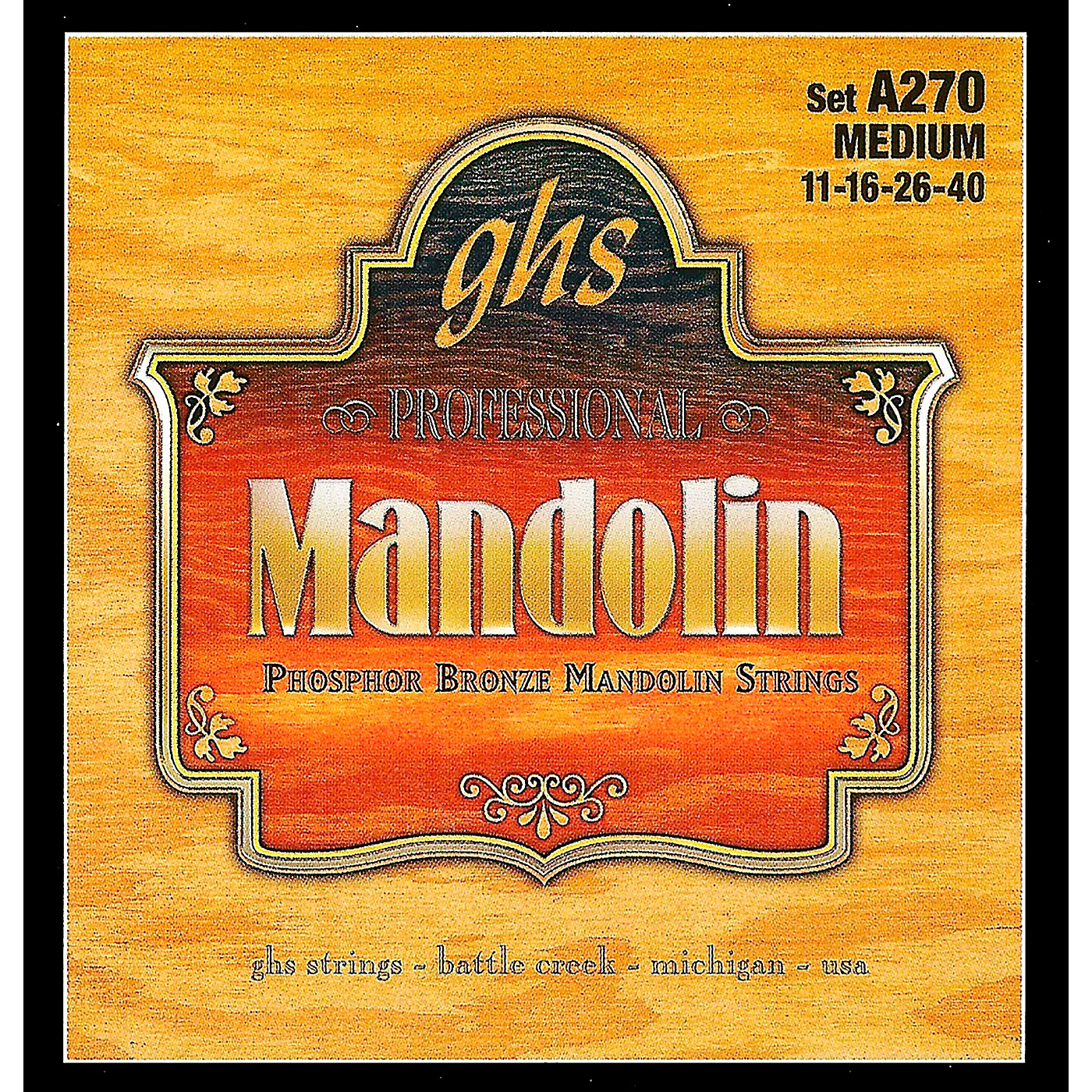 GHS A270 Phosphor Bronze Mandolin Strings thumbnail