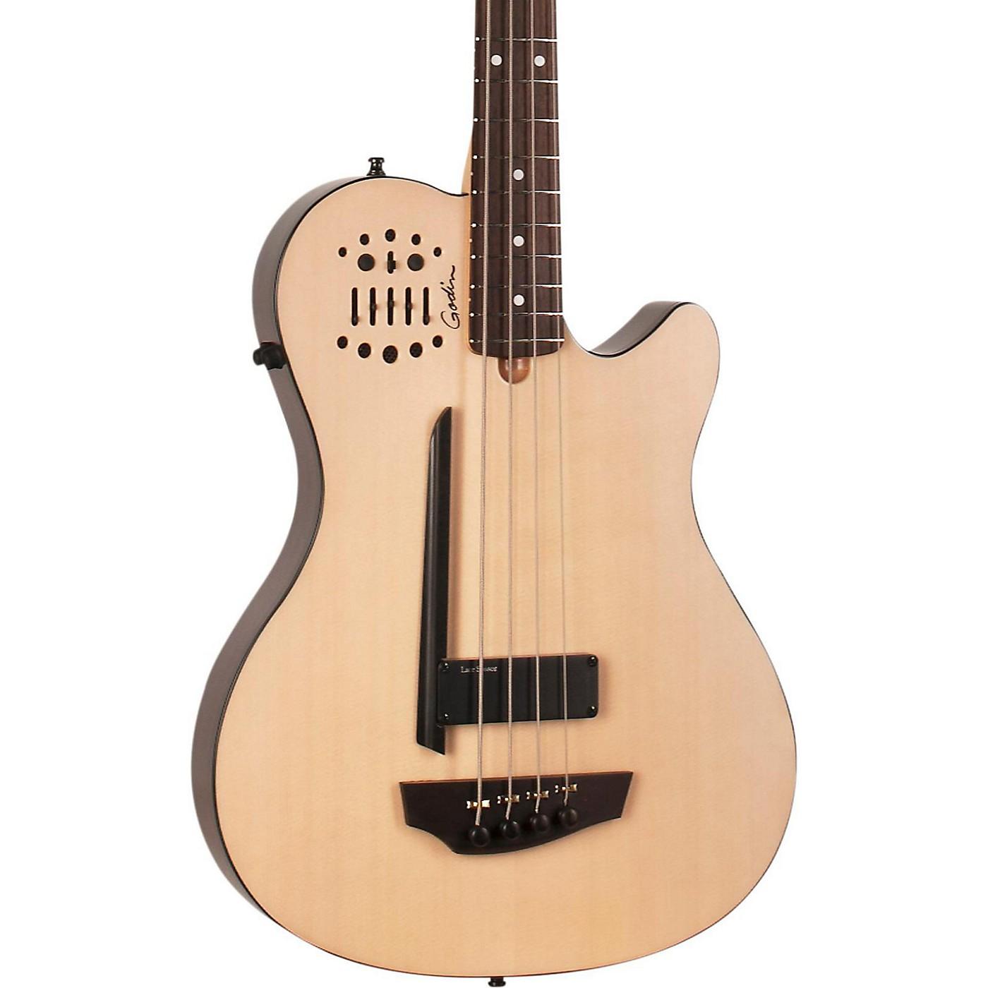 Godin A4 Ultra Natural SA Acoustic-Electric Bass Guitar thumbnail