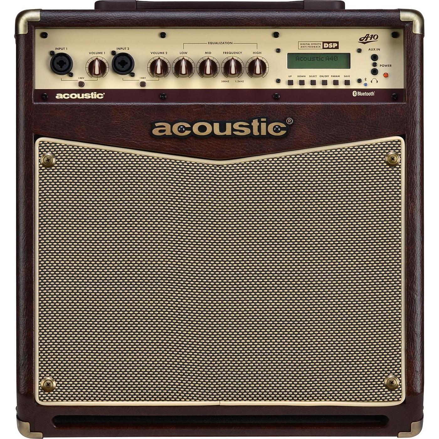Acoustic A40 40W Acoustic Guitar Combo Amp thumbnail