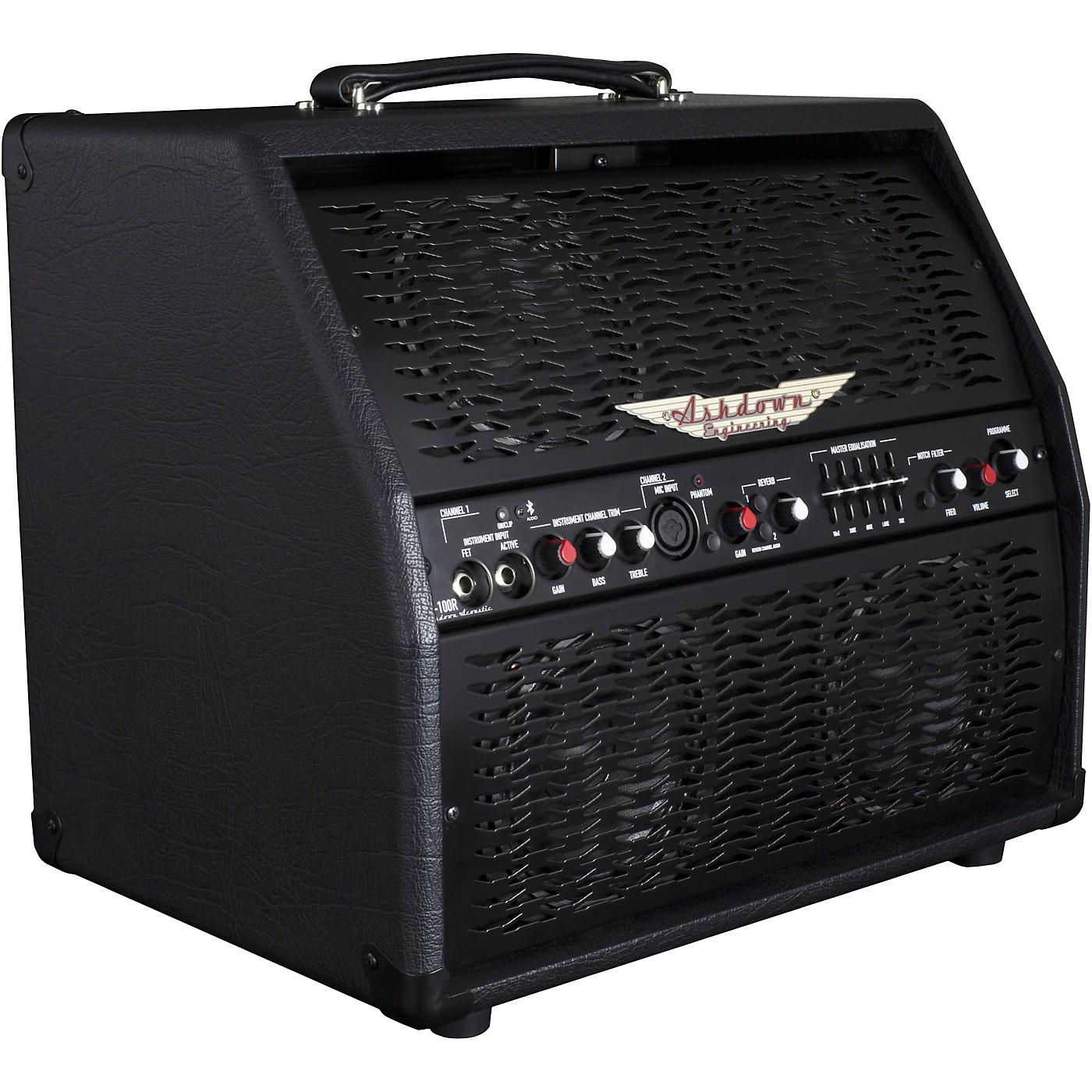 Ashdown AA-100 100W 4x5 Acoustic Combo Amplifier thumbnail