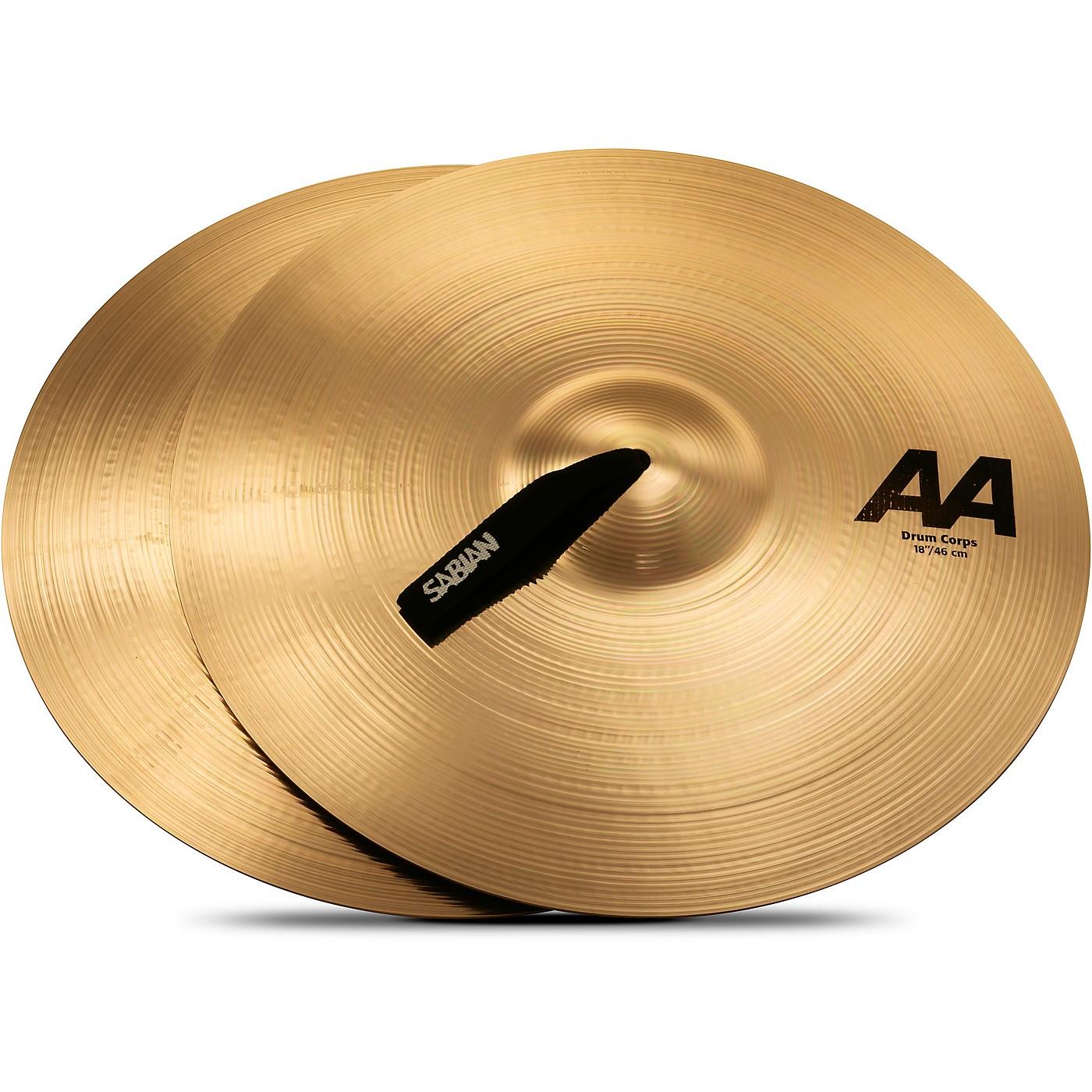 Sabian AA Drum Corps Cymbals thumbnail