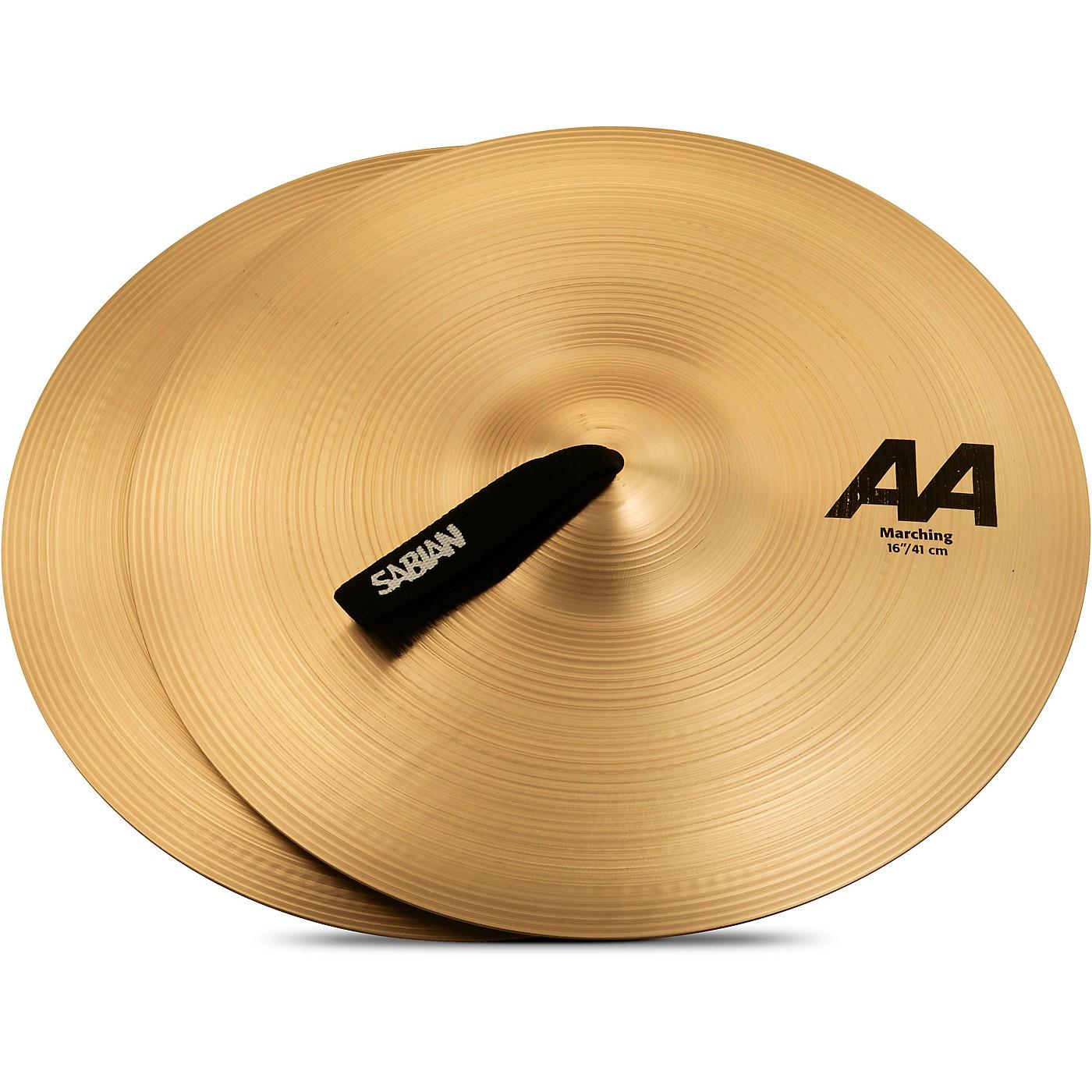 Sabian AA Marching Band Cymbals thumbnail