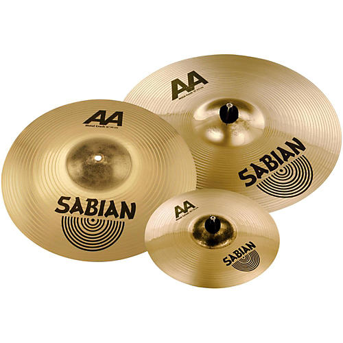 Sabian AA Metal Crash Pack with free 10