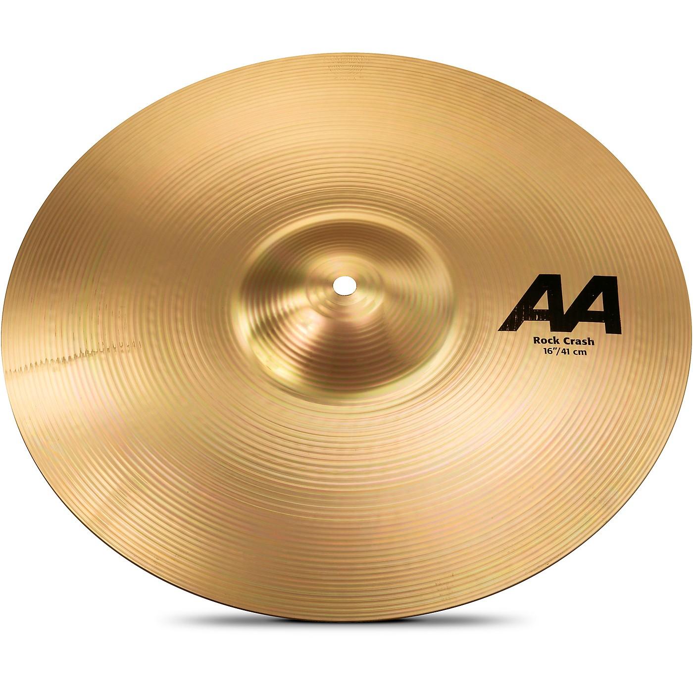 Sabian AA Rock Crash Cymbal Brilliant thumbnail