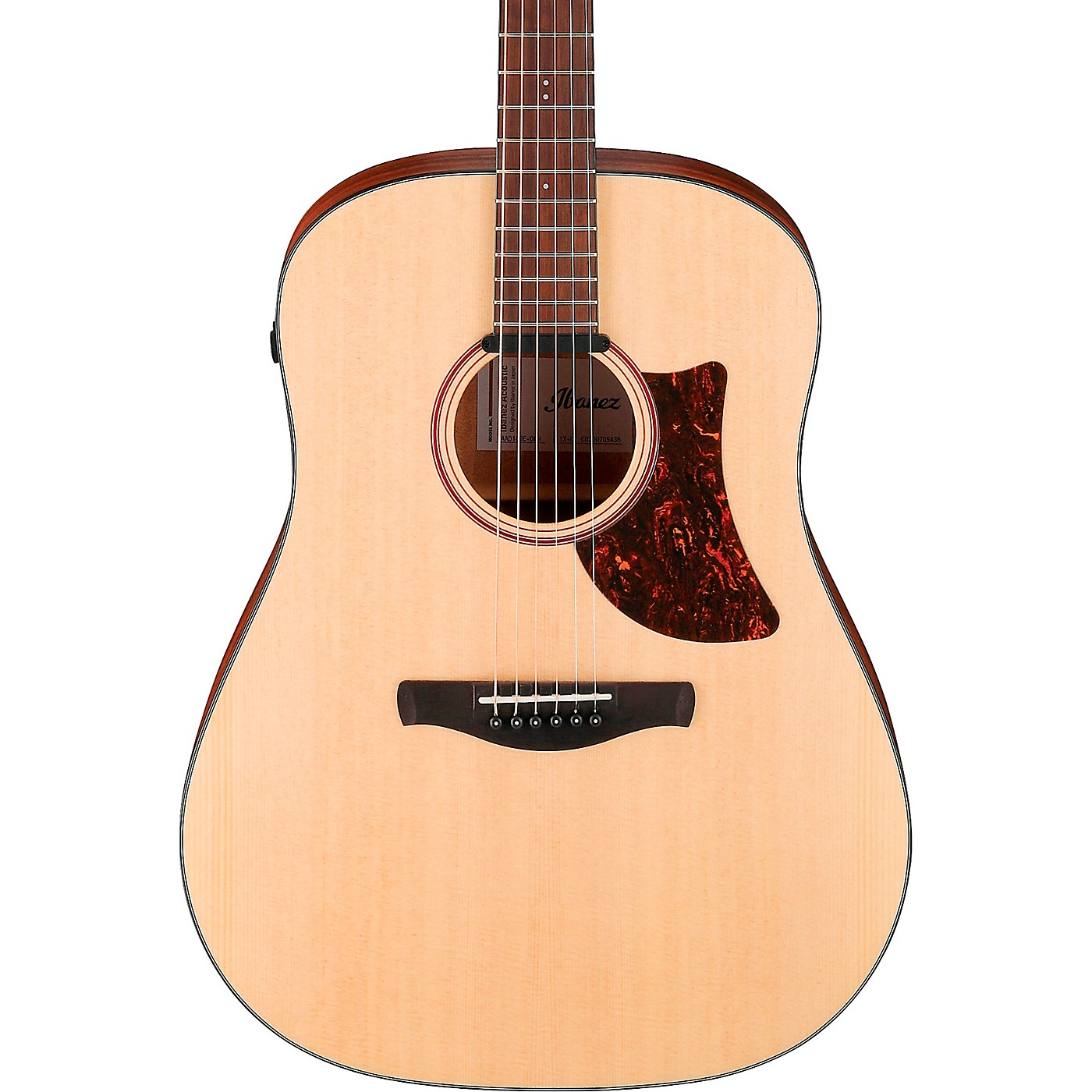 Ibanez AAD100E Advanced Acoustic Solid Top Dreadnought Guitar thumbnail