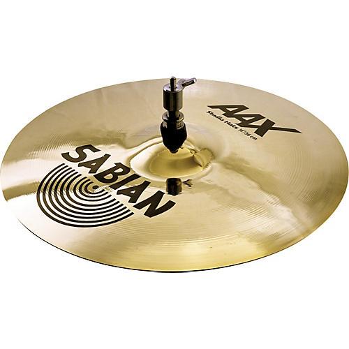 Sabian AAX Stage Hi-Hat Cymbal Top Brilliant thumbnail