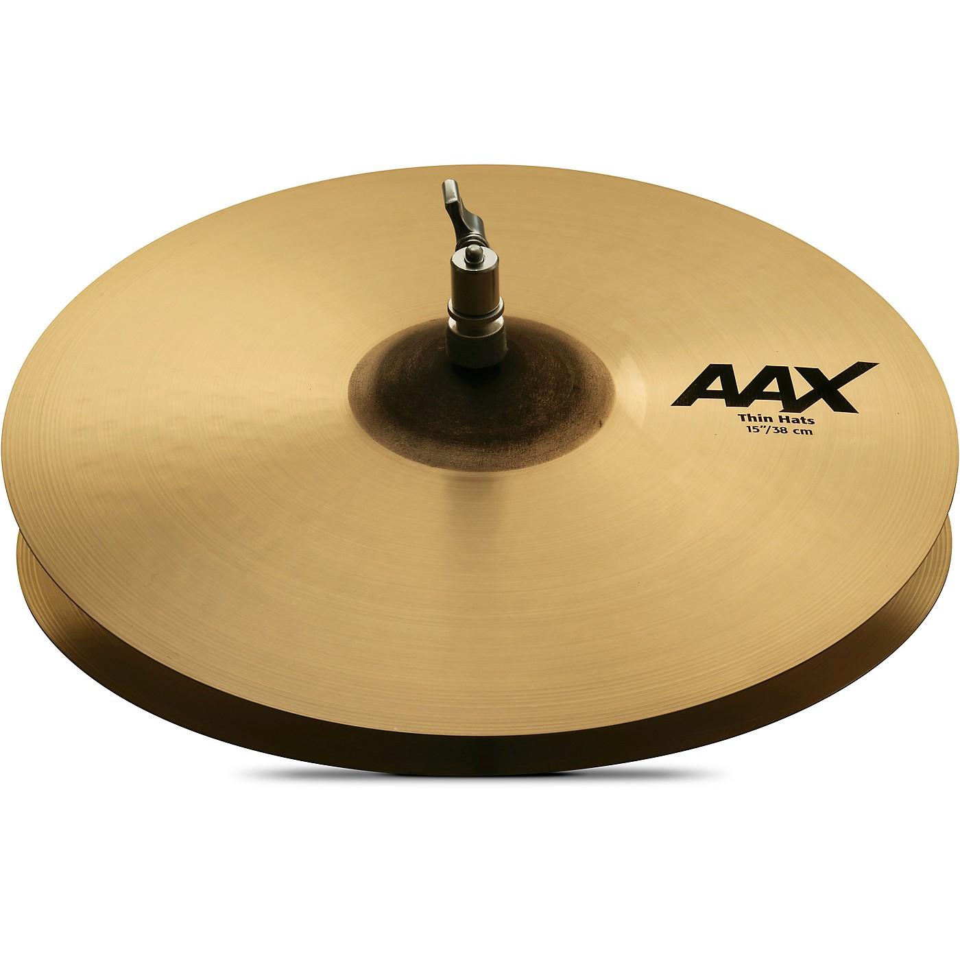 Sabian AAX Thin Hats thumbnail