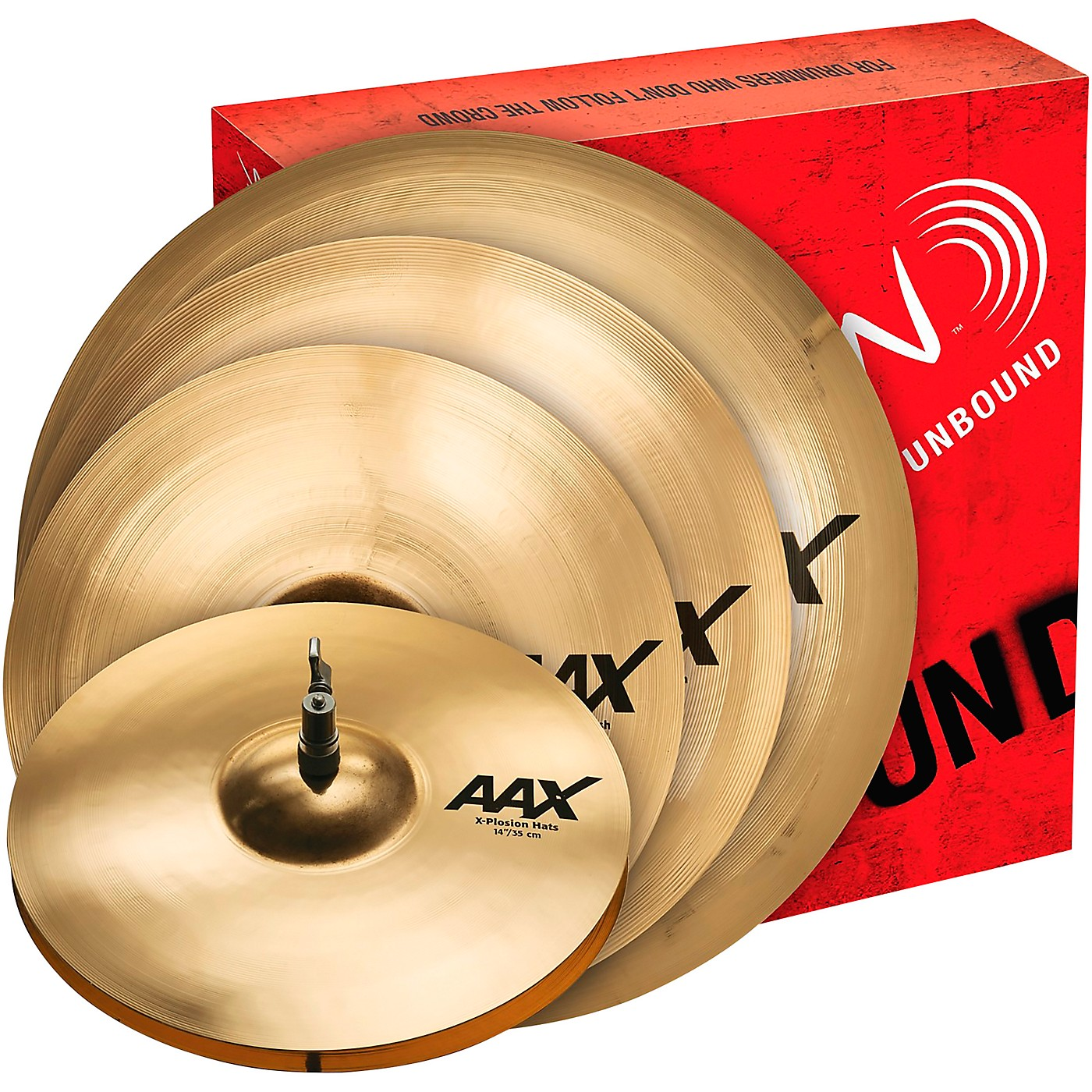 Sabian AAX X-Plosion Cymbal Pack with Free 18 inch Crash thumbnail