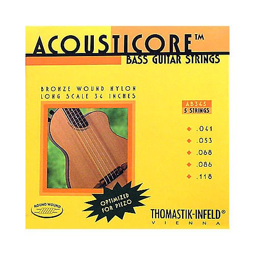 Thomastik AB345 Acousticore Phosphor Bronze 5-String Bass Strings thumbnail