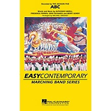 Hal Leonard ABC Marching Band Level 2-3 by The Jackson 5 Arranged by Michael Sweeney
