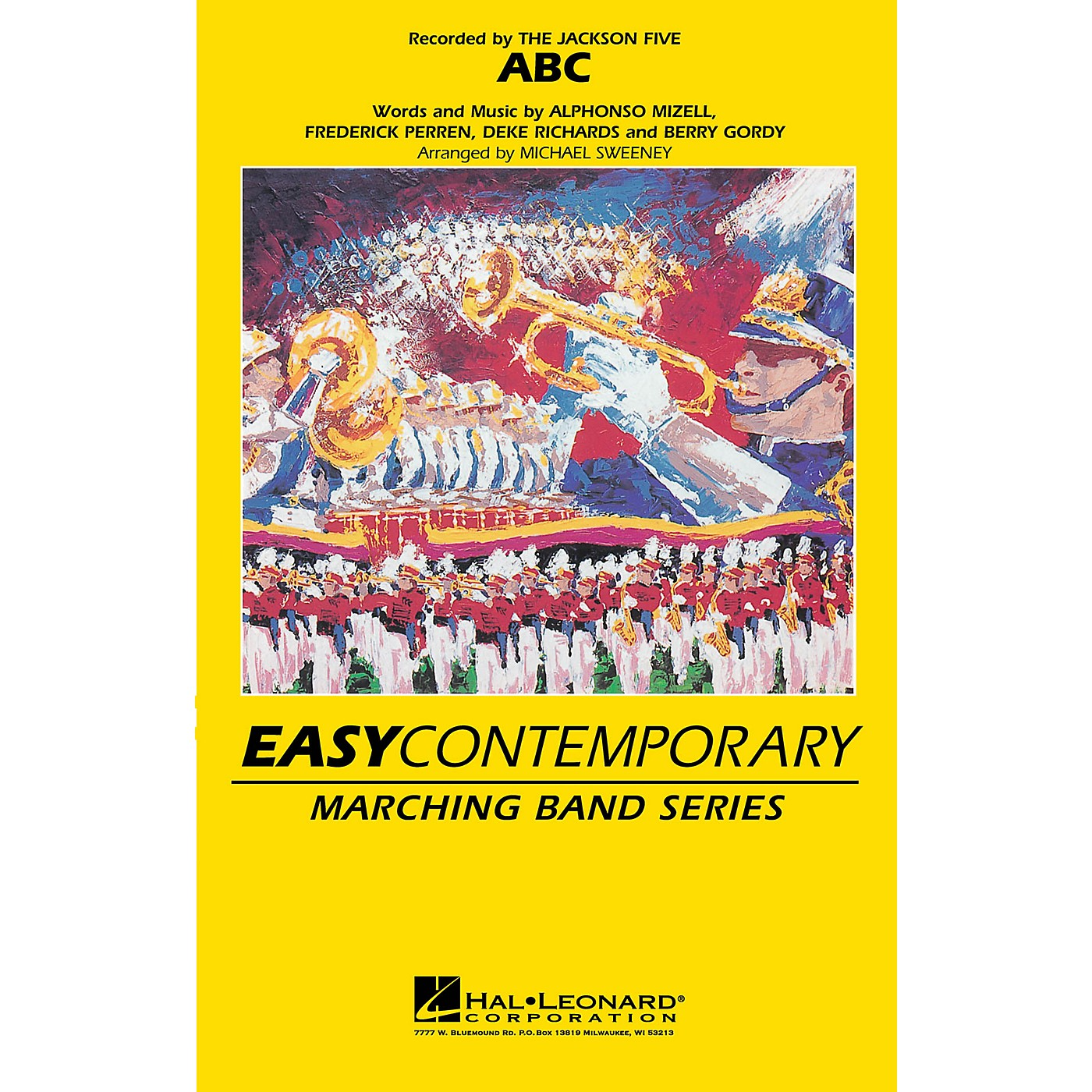 Hal Leonard ABC Marching Band Level 2-3 by The Jackson Five Arranged by Michael Sweeney thumbnail