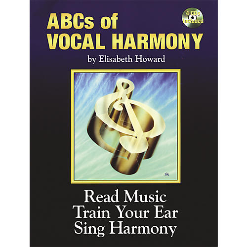 Alfred ABCs Of Vocal Harmony Book and 4 CDs thumbnail