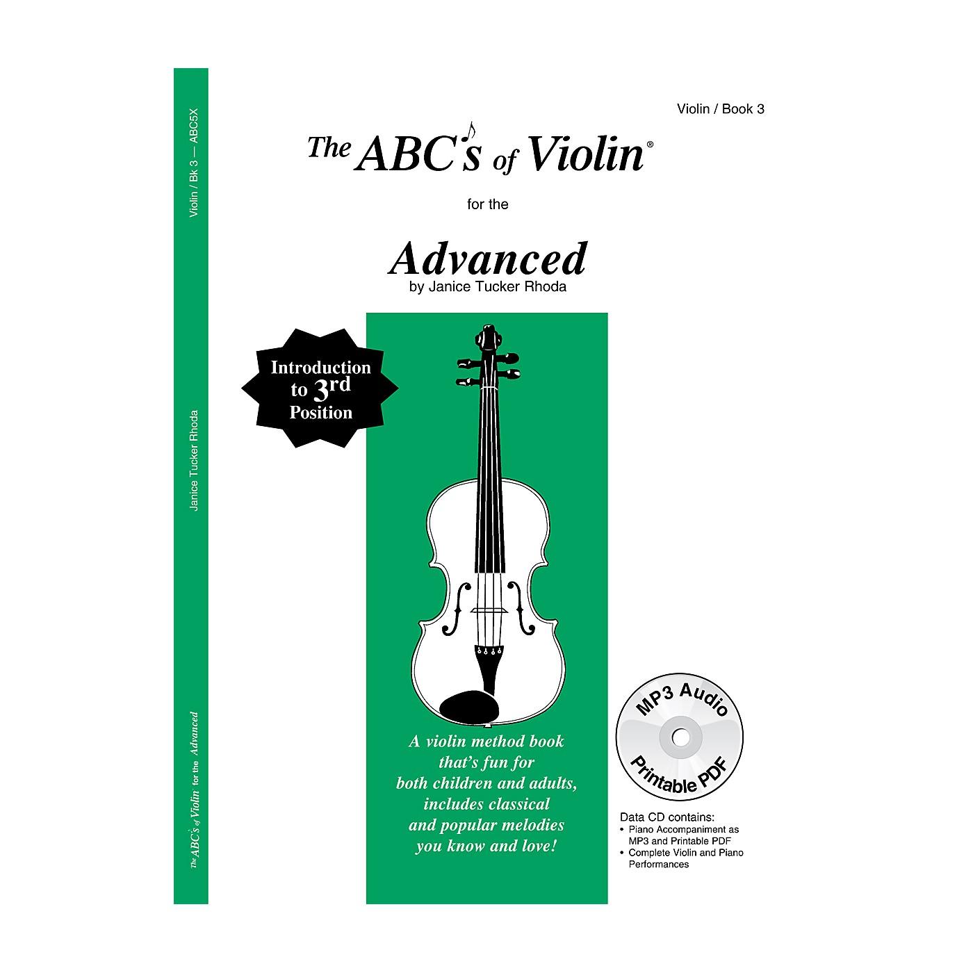 Carl Fischer ABCs of Violin - Advanced (Book + CD) thumbnail