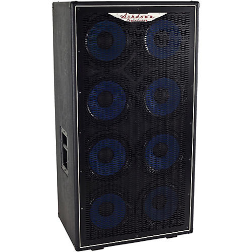 Ashdown ABM-810H 1,200W 8x10 Bass Speaker Cabinet thumbnail