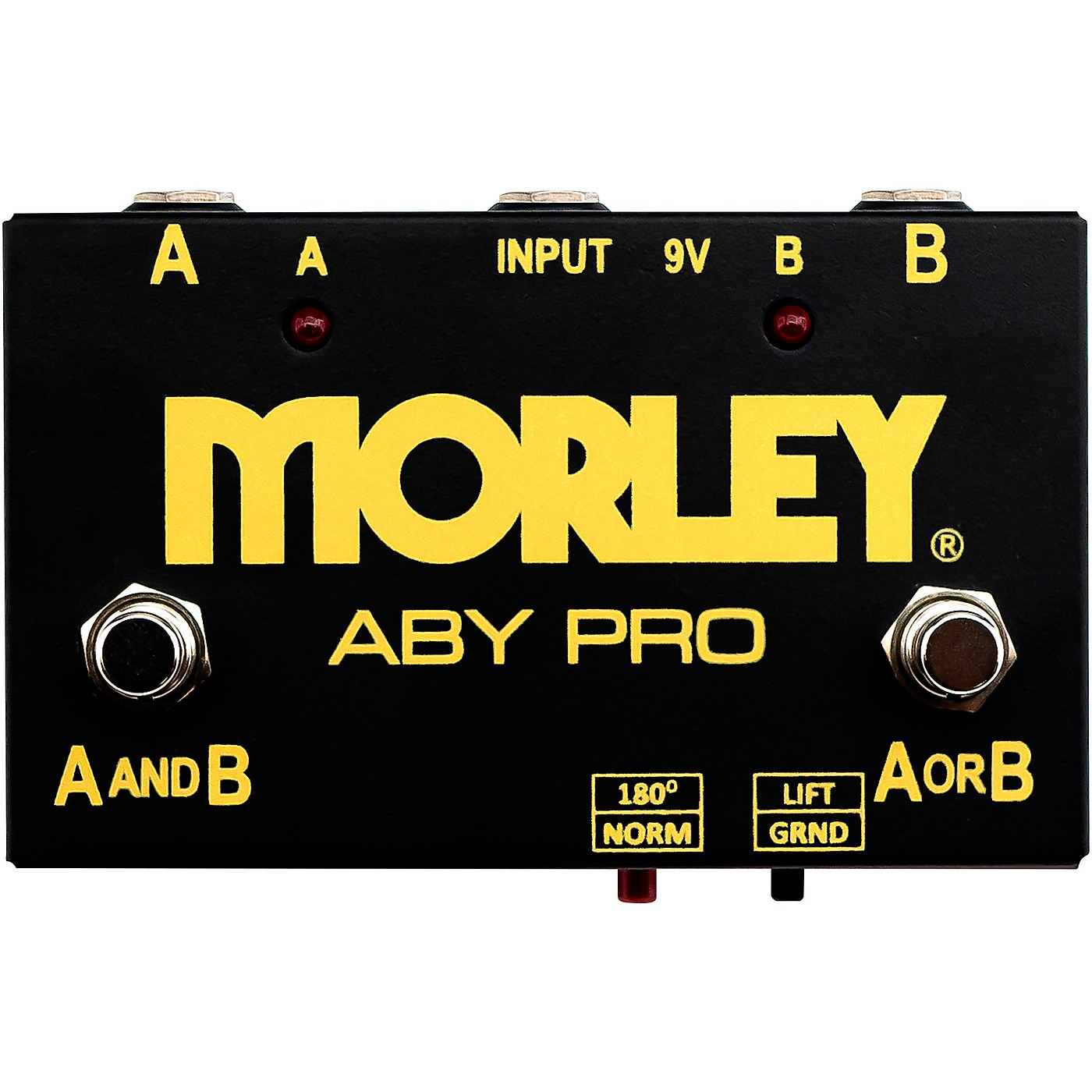 Morley ABY Pro Selector Switch Pedal thumbnail