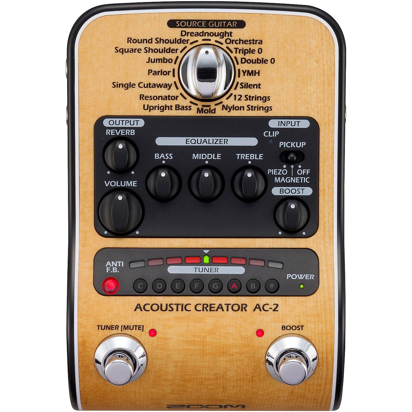 Zoom AC-2 Acoustic Creator thumbnail