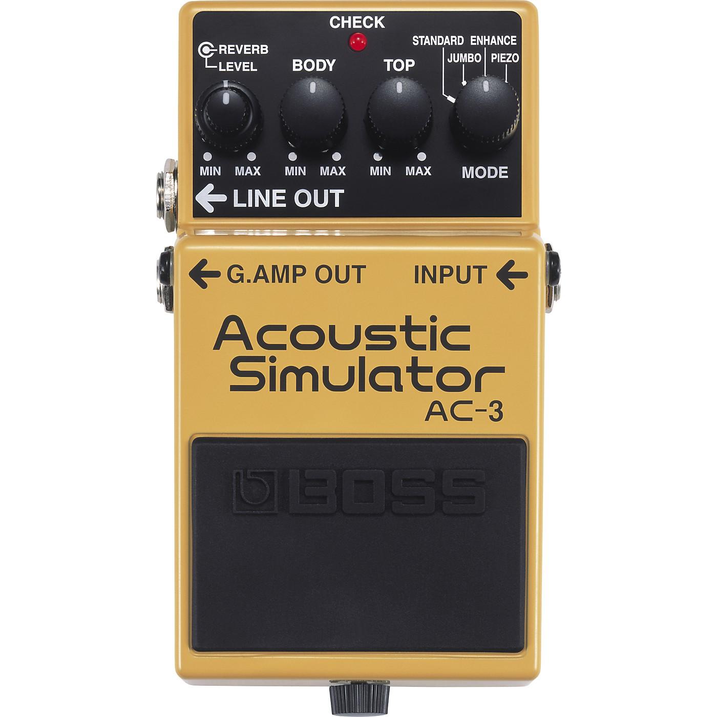 Boss AC-3 Acoustic Simulator thumbnail