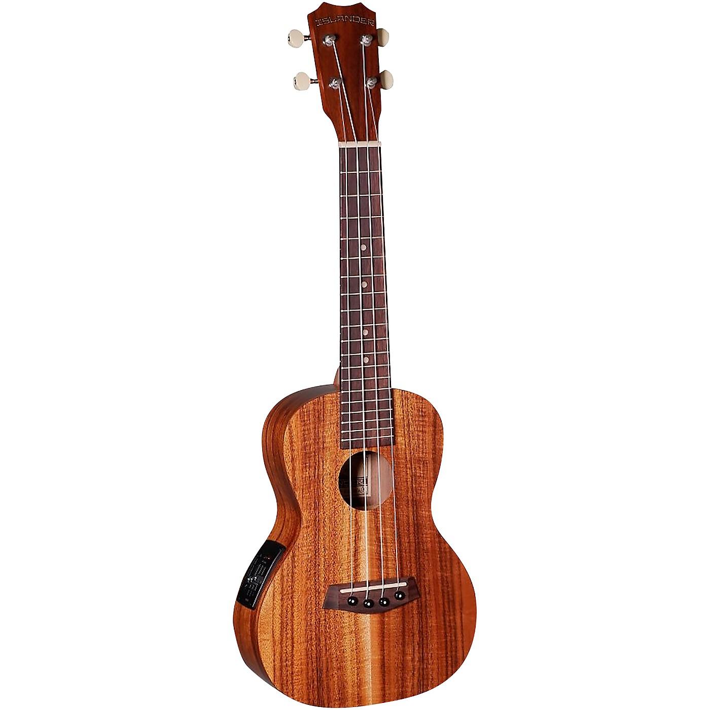Islander AC-4-EQ Traditional Concert Acoustic-Electric Ukulele thumbnail