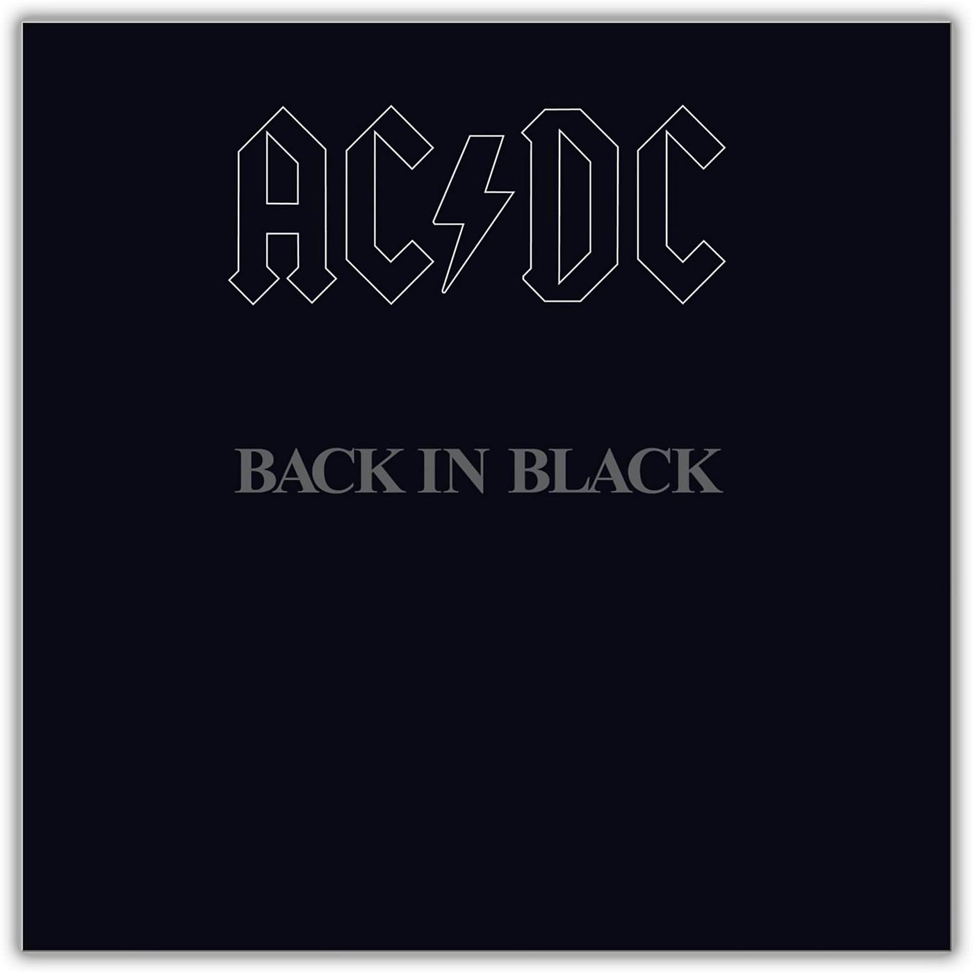 Sony AC/DC - Back in Black Vinyl LP thumbnail