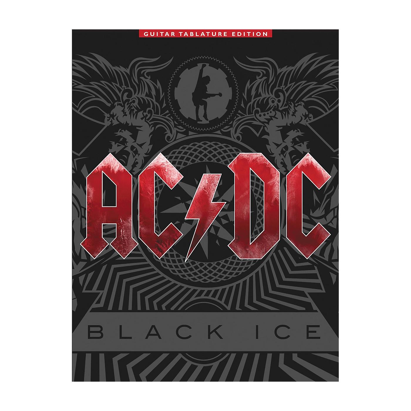 Music Sales AC/DC - Black Ice Guitar Tab Songbook thumbnail