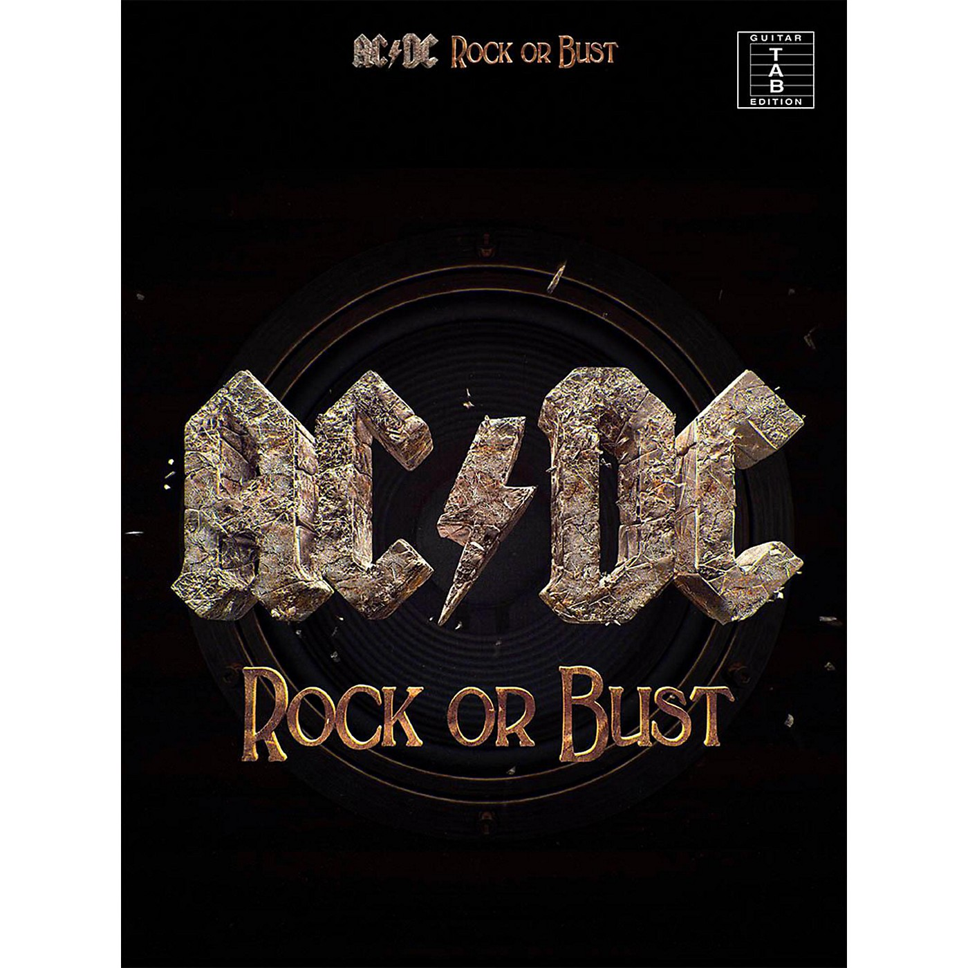 Music Sales AC/DC - Rock or Bust Guitar Tab Songbook thumbnail