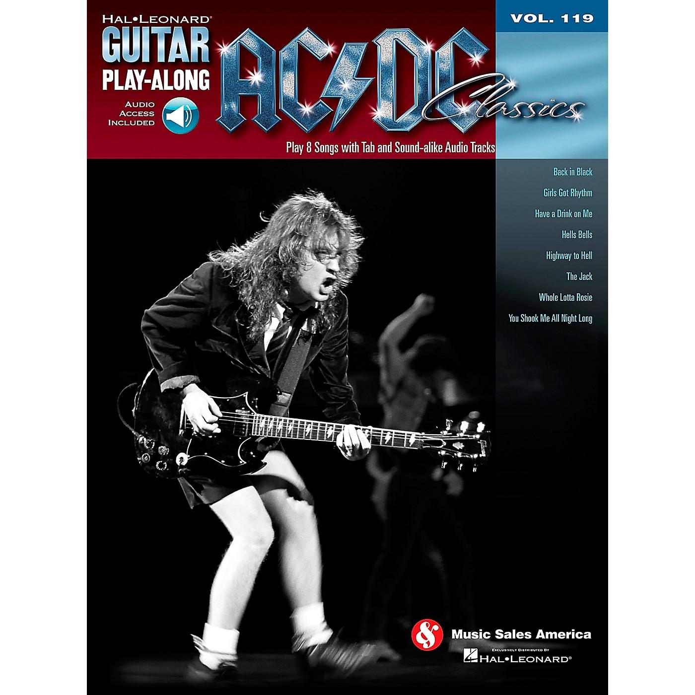 Hal Leonard AC/DC Classics - Guitar Play-Along Volume 119 (Book/Online Audio) thumbnail
