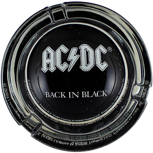 C&D Visionary AC/DC Logo Glass Ashtray thumbnail