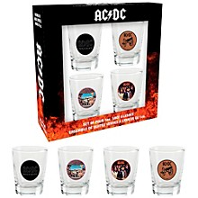 Hal Leonard AC/DC Shotglasses (Set of 4)