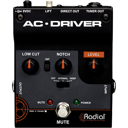 Radial Engineering AC-Driver Acoustic Instrument Preamp thumbnail