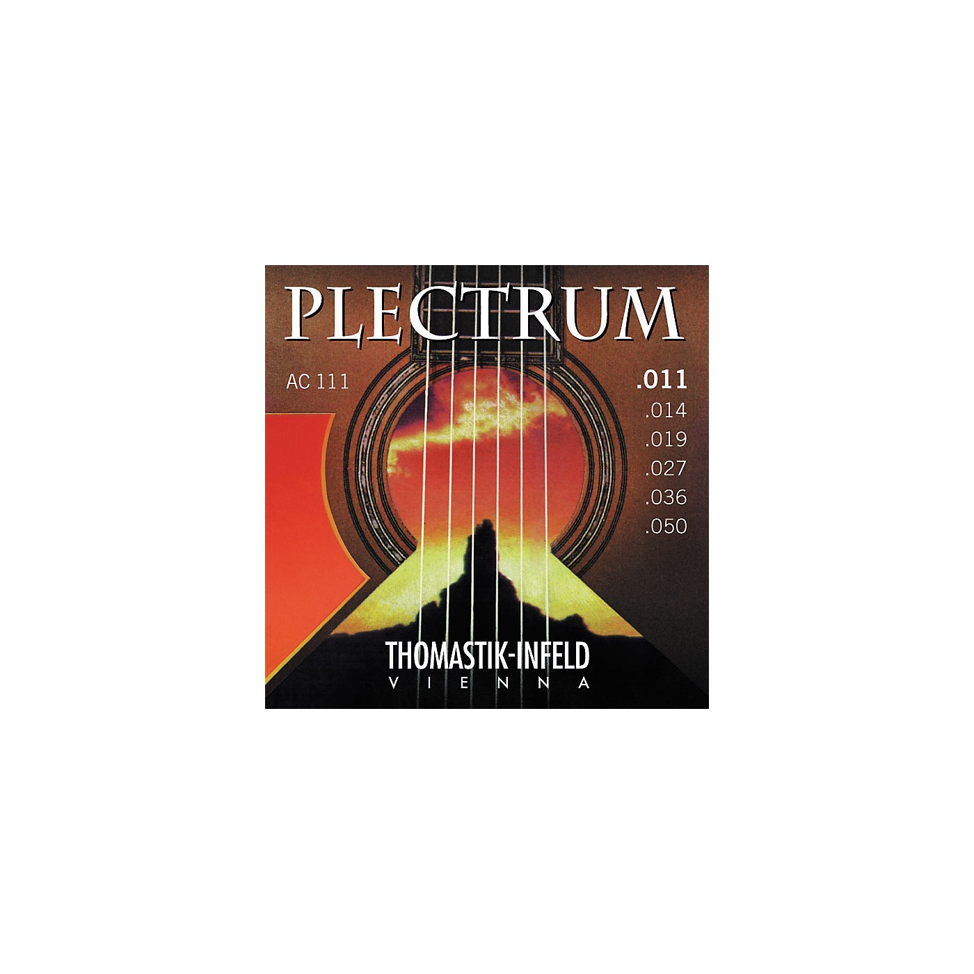 Thomastik AC111 Plectrum Bronze Acoustic Guitar Strings - Light thumbnail
