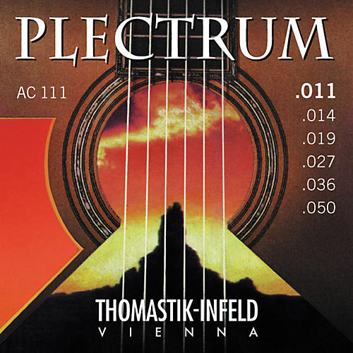 Thomastik AC111 Plectrum Bronze Acoustic Guitar Strings - Light thumbnail