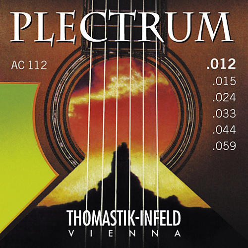 Thomastik AC112 Plectrum Bronze Acoustic Strings Medium Light thumbnail