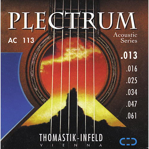 Thomastik AC113 Plectrum Bronze Medium Acoustic Guitar Strings thumbnail