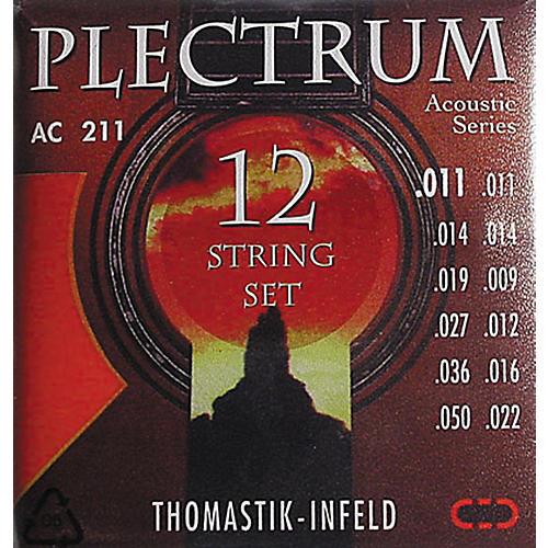 Thomastik AC211 Plectrum Bronze Light Acoustic 12-String Guitar Strings thumbnail