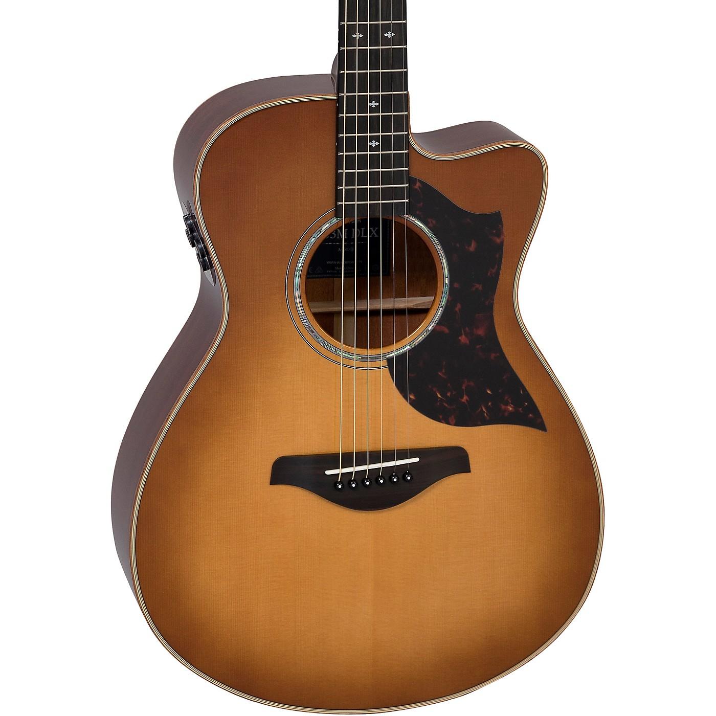Yamaha AC3M DLX A Series Concert Acoustic-Electric Guitar thumbnail