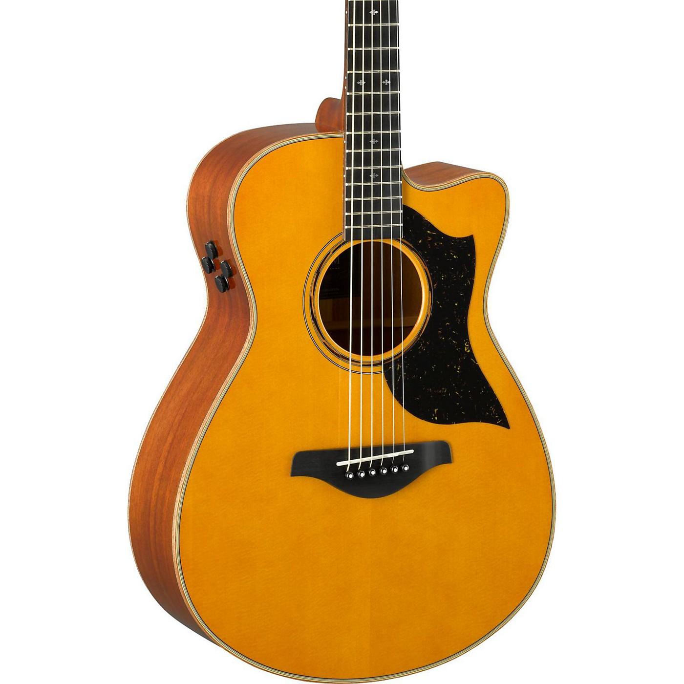 Yamaha AC5M A-Series Concert Acoustic-Electric Guitar thumbnail