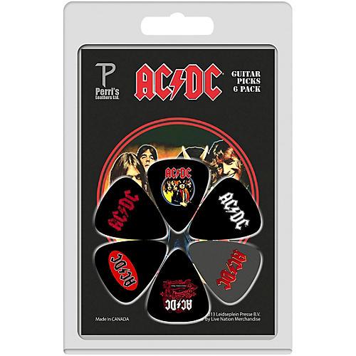 Perri's ACDC Guitar Pick 6-Pack thumbnail