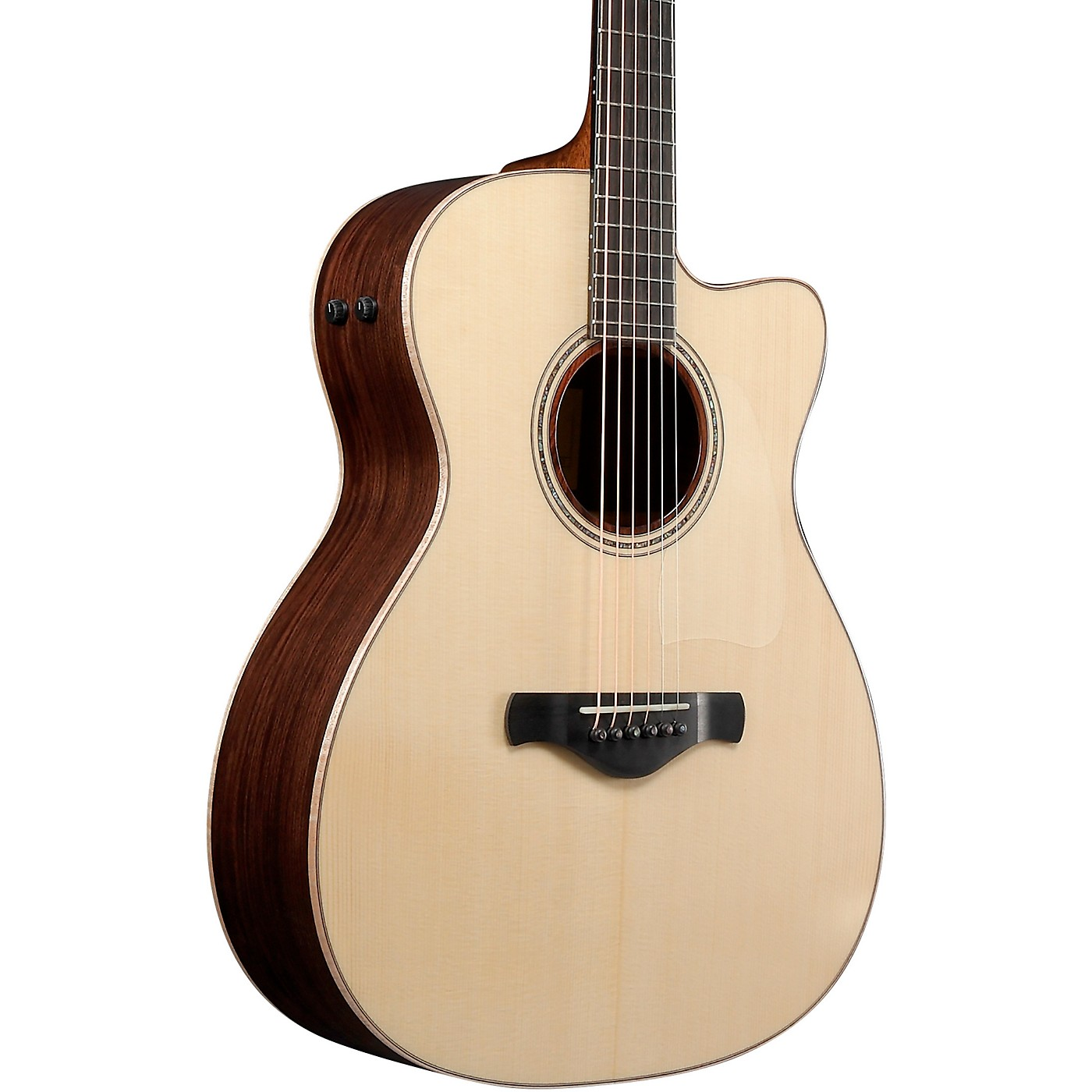 Ibanez ACFS580CE Artwood Fingerstyle All-Solid Grand Concert Acoustic-Electric Guitar thumbnail