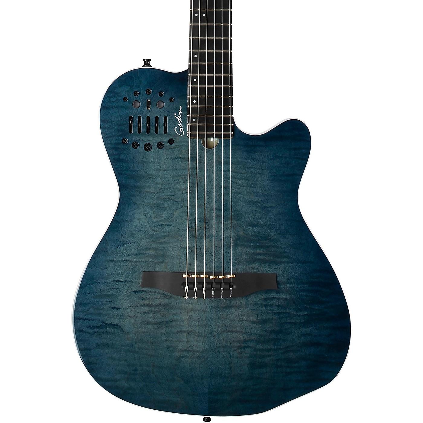 Godin ACS Denim Blue Acoustic-Electric Guitar thumbnail