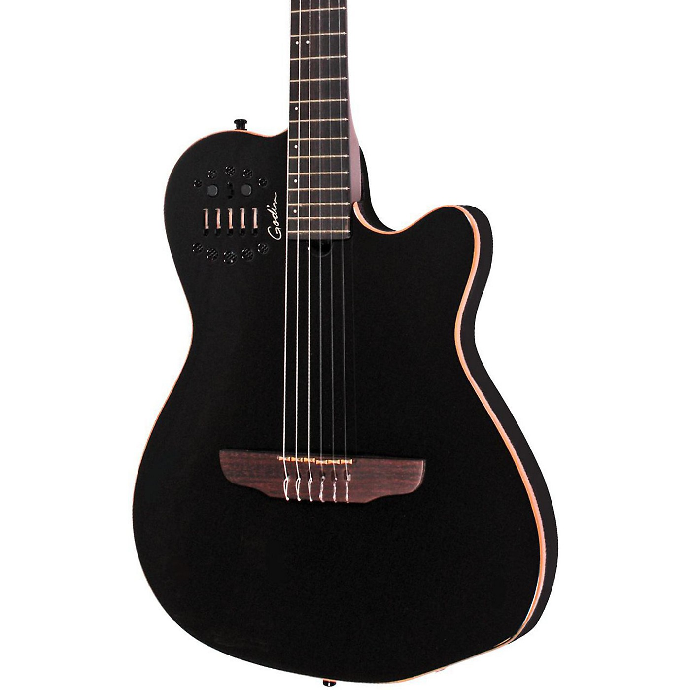Godin ACS-SA Slim Nylon String Cedar Top Acoustic-Electric Guitar thumbnail