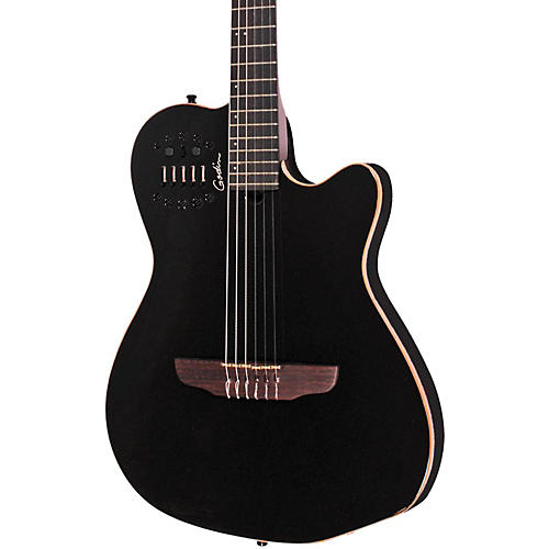 Godin Acs Sa Slim Nylon String Cedar Top Acoustic Electric