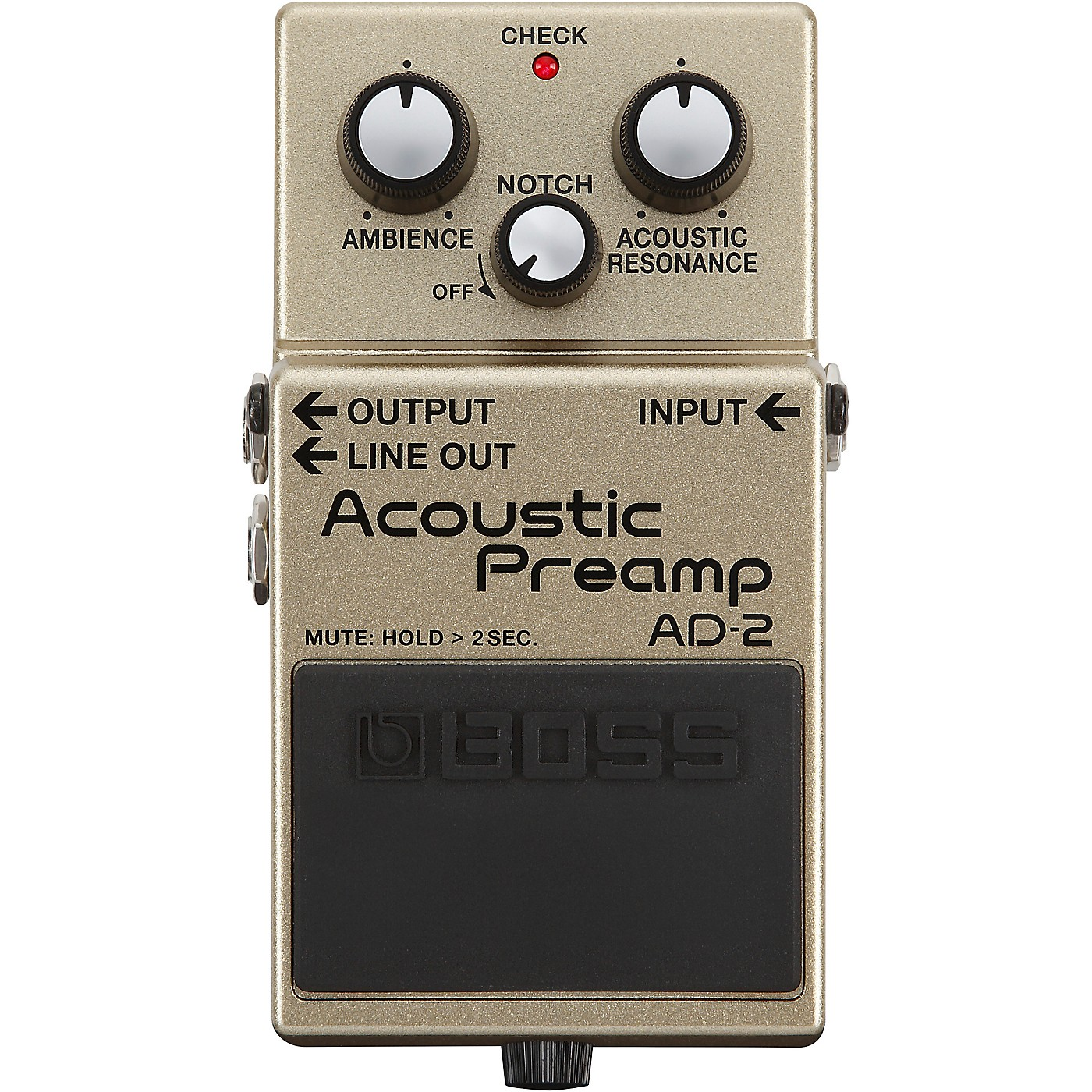 Boss AD-2 Acoustic Preamp Pedal thumbnail