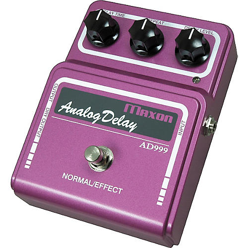 Maxon AD-999 Analog Delay Guitar Effects Pedal thumbnail