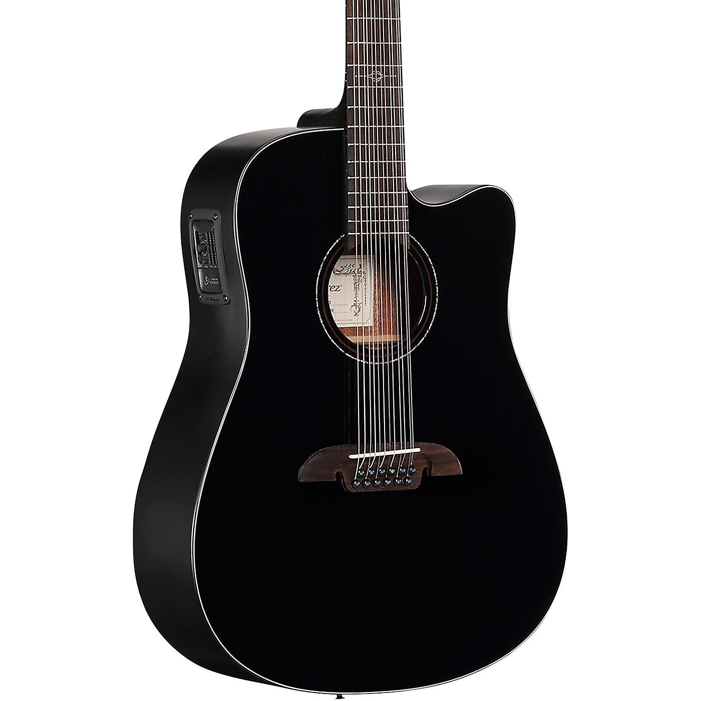 Alvarez AD60 Artist Series 12-String Dreadnought Acoustic-Electric Guitar thumbnail
